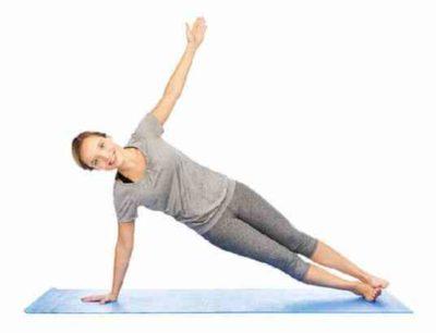 Йога для похудения дома асана планка