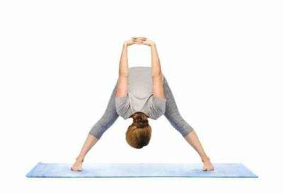 Йога для похудения асана наклон