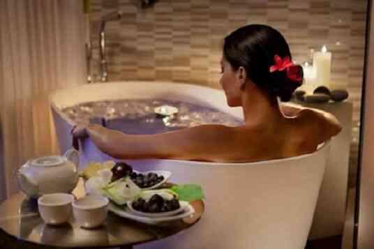 Ванна для похудения с эфирными маслами