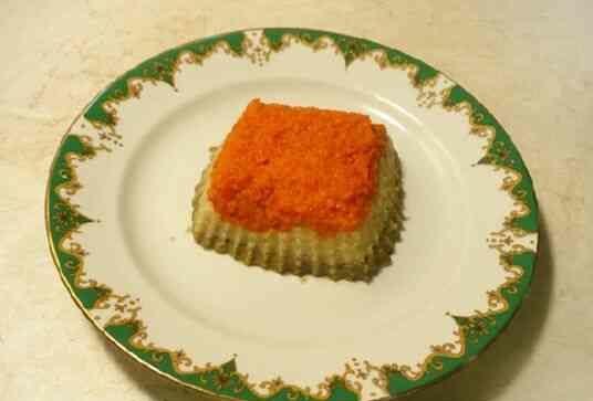 Диетическое суфле из овощей