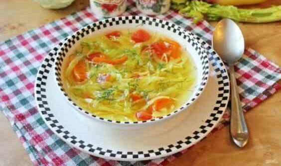 Боннский суп для жиросжигания