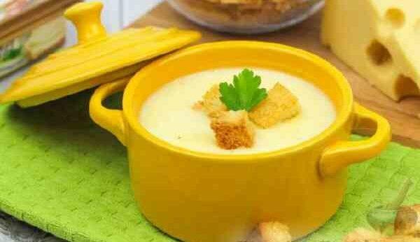 Диетический сырный суп для похудения