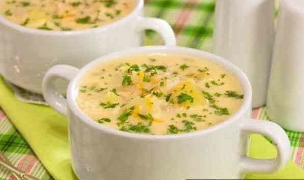 Французский суп с сыром