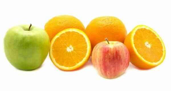 Диета на апельсинах и яблоках на 7 дней