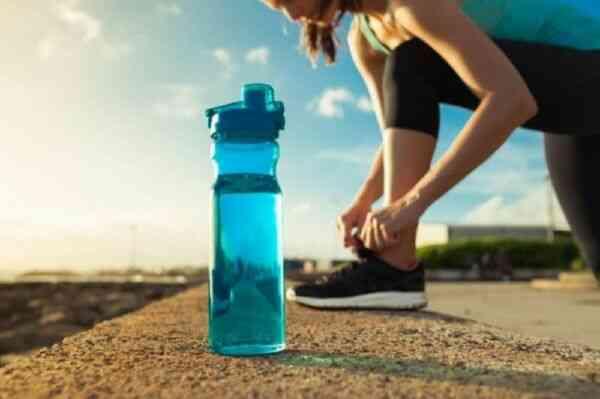 Летняя тренировка с водой
