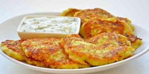 Оладьи диетические из кабачков рецепт