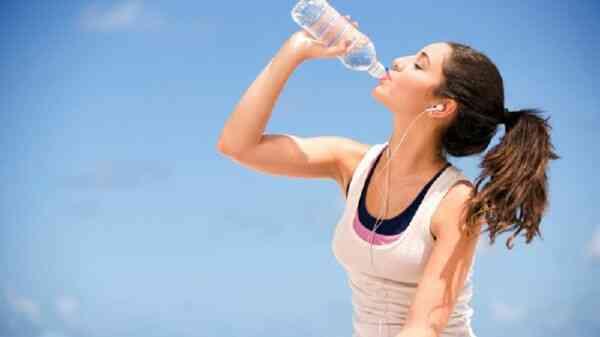 После тренировки надо пить