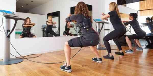 Тренировка с электрическим стимулятором