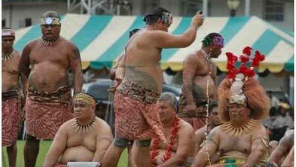 В Науру большинство людей толстые
